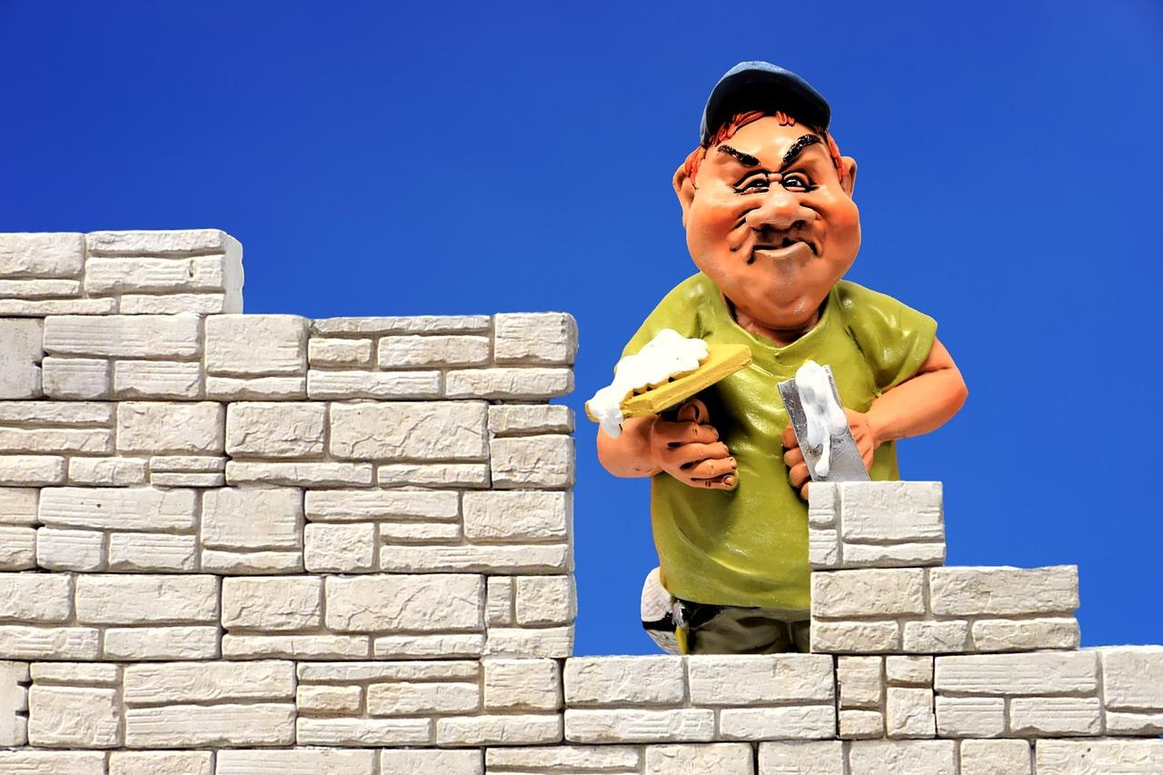Budowa domu ściany murowane